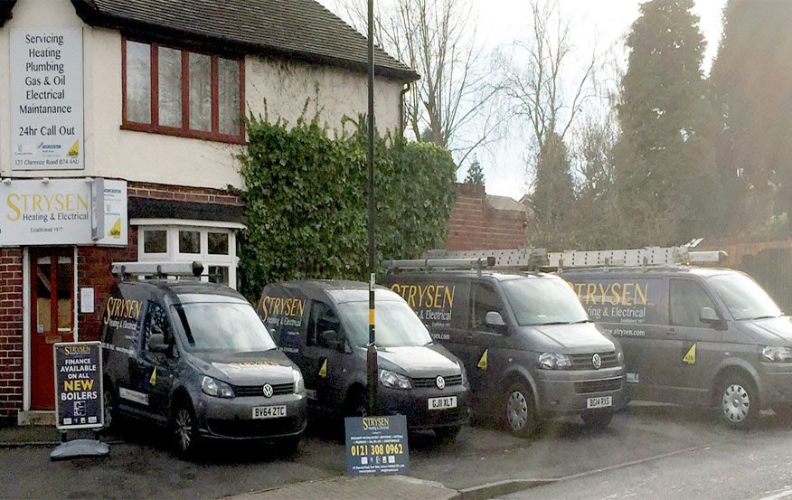 Commercial plumber Sutton Coldfield